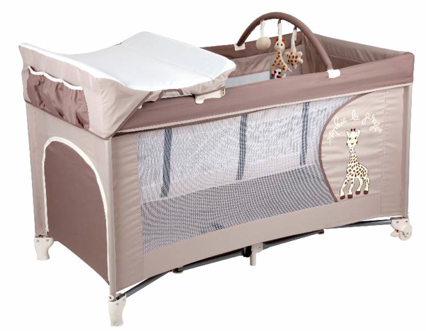 lit de voyage sophie la girafe brun vulli orchestra articles pour b b et listes de. Black Bedroom Furniture Sets. Home Design Ideas