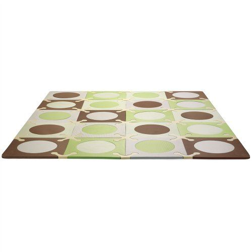 Tapis Mousse Puzzle Green Brown Skip Hop Orchestra Articles