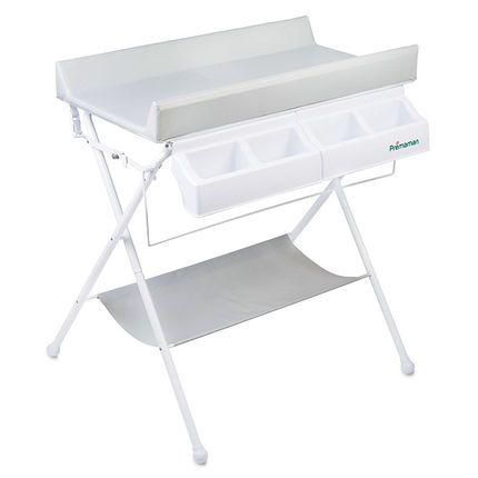table langer pliable ines grise premaman orchestra articles pour b b et listes de. Black Bedroom Furniture Sets. Home Design Ideas