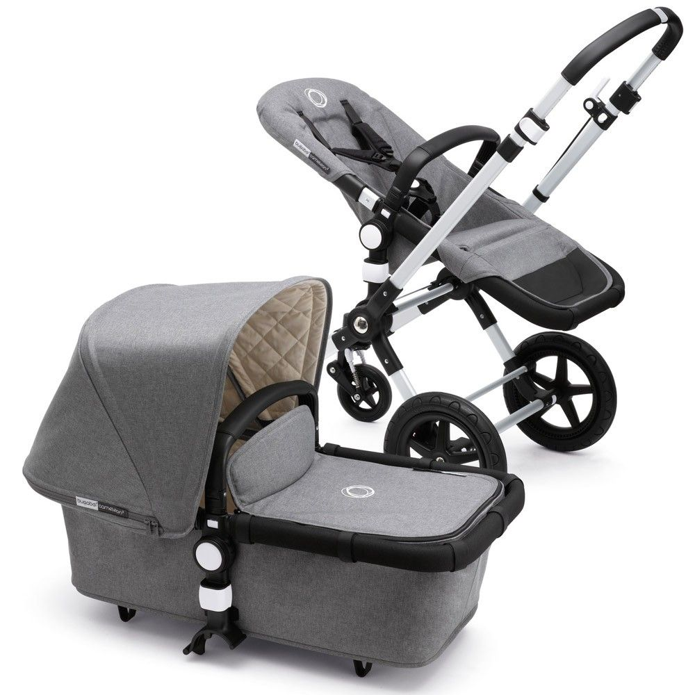 CAMELEON 3 COMPLETE CLASSIC+ GRIS CHINE - CLASSIC+ GRIS CHINE - BUGABOO