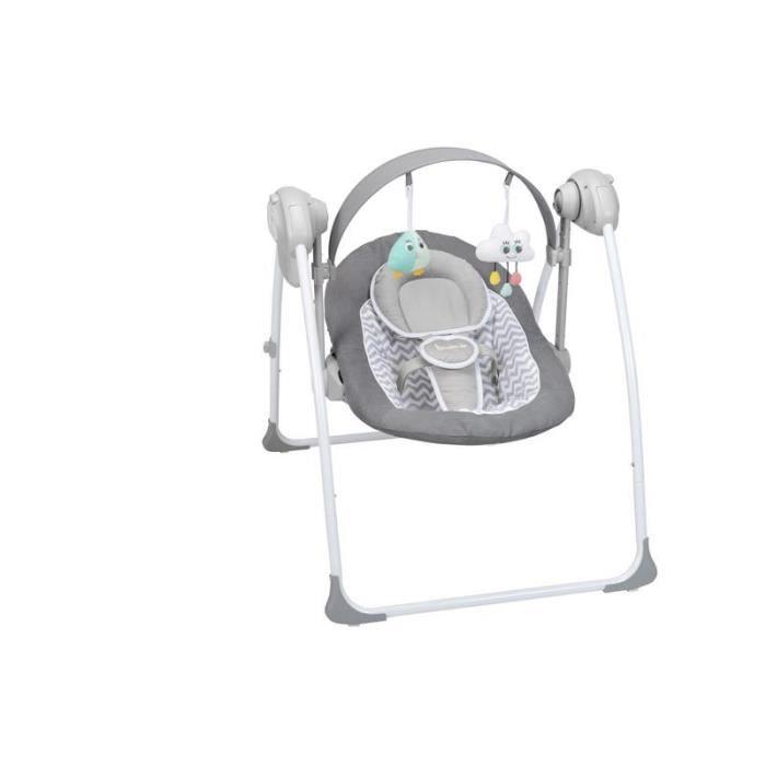 Confort White Grey Badabulle Balancelle White Grey Confort Balancelle zwCI1d8