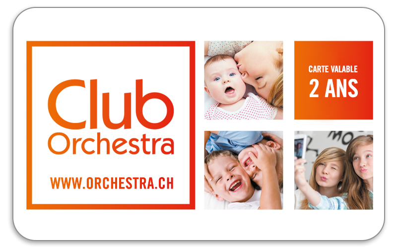 Carte Club Orchestra.Carte Club 2 Ans