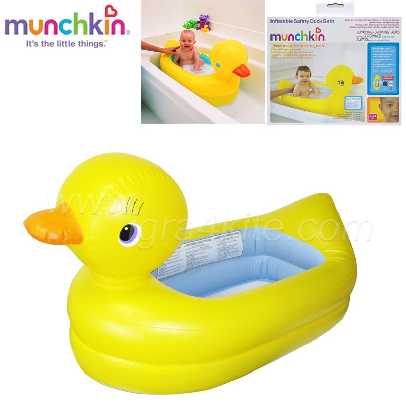 Baignoire Gonflable Canard Munchkin Orchestra Articles Pour