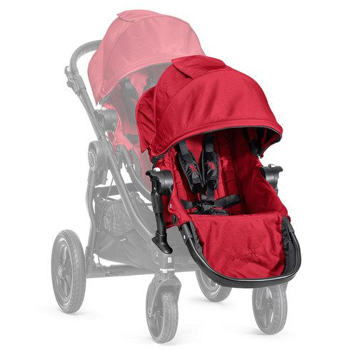 Second siège avec adaptateur black - RED - BABYJOGGER
