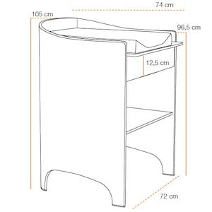 table a langer matelas white blanc leander orchestra articles pour b b et listes de. Black Bedroom Furniture Sets. Home Design Ideas
