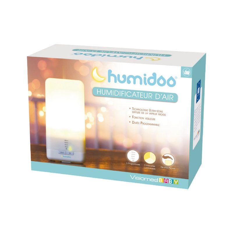 HUMIDIFICATEUR ULTRASONS HUMIDOO - HUMIDOO - VISIOMED