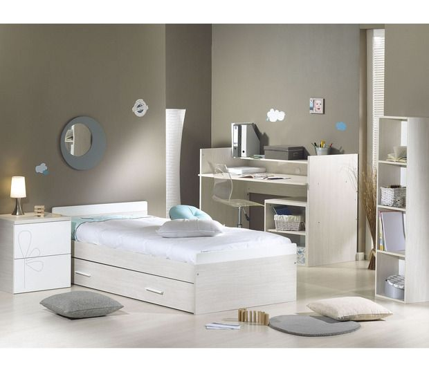 lit chambre transformable 70 x 140 opale blanc avec motif sauthon orchestra articles. Black Bedroom Furniture Sets. Home Design Ideas