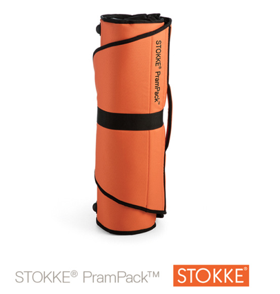 Sac de transport PramPack - ORANGE / NOIR - STOKKE