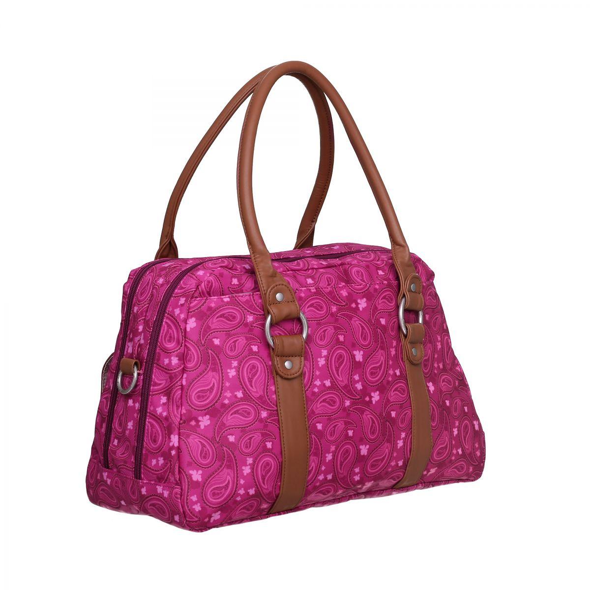 sac langer vintage metro bag paisley pink lassig orchestra articles pour b b et. Black Bedroom Furniture Sets. Home Design Ideas