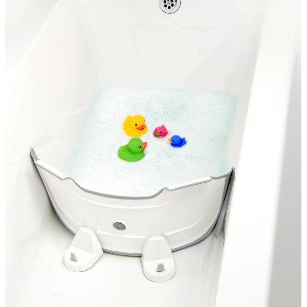 Baby Dam Reducteur De Baignoire Blanc Gris Baignoire Toilette Orchestra